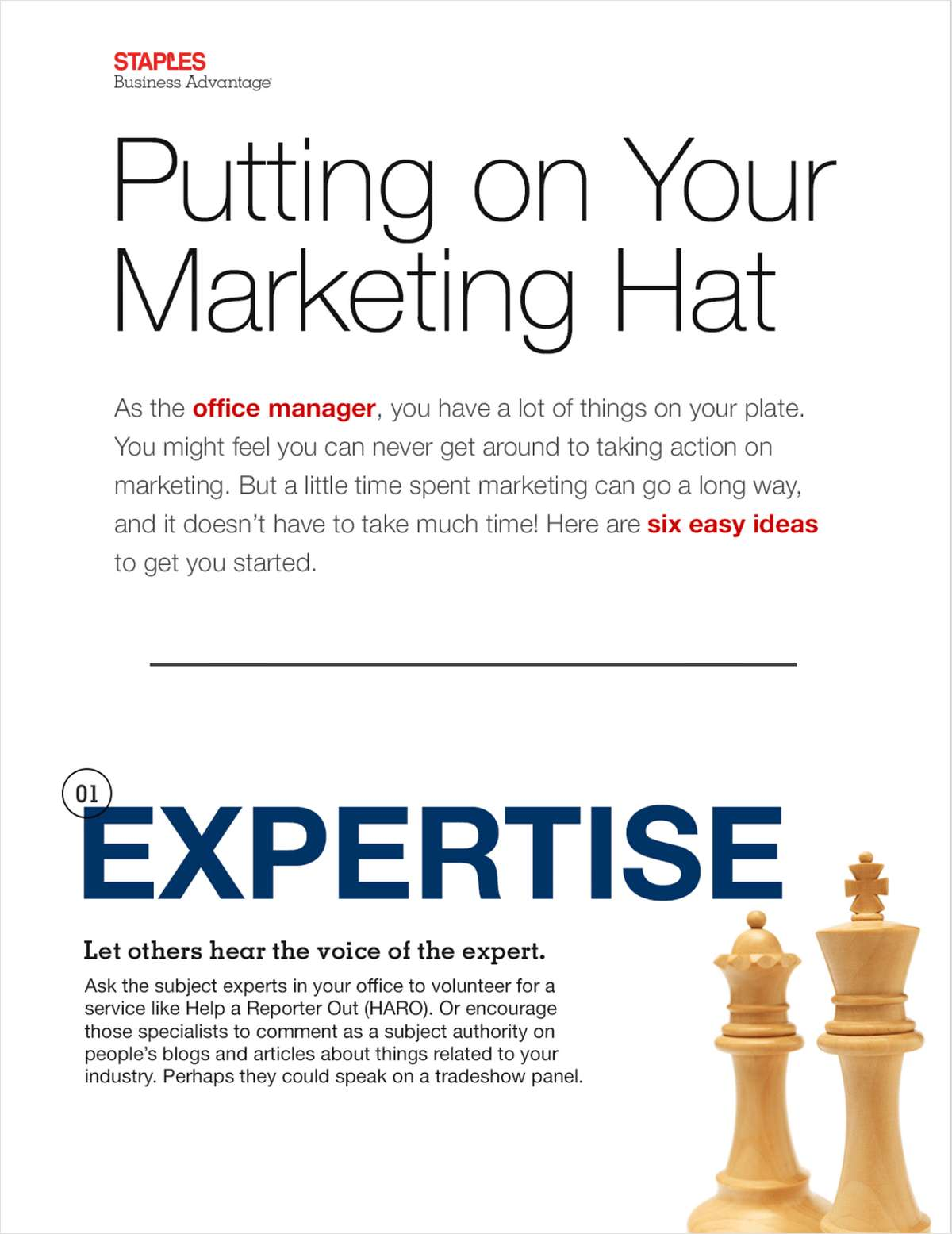 Marketing Tips for Office Managers