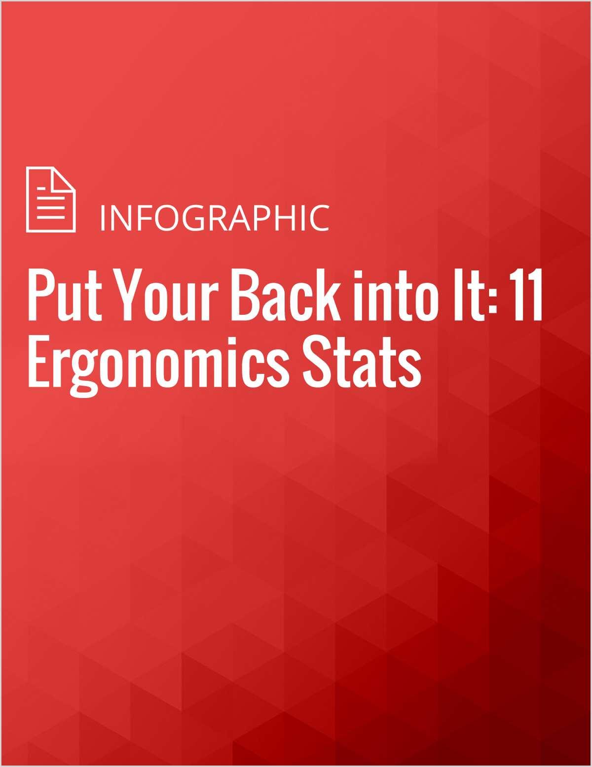 Put Your Back into It: 11 Ergonomics Stats