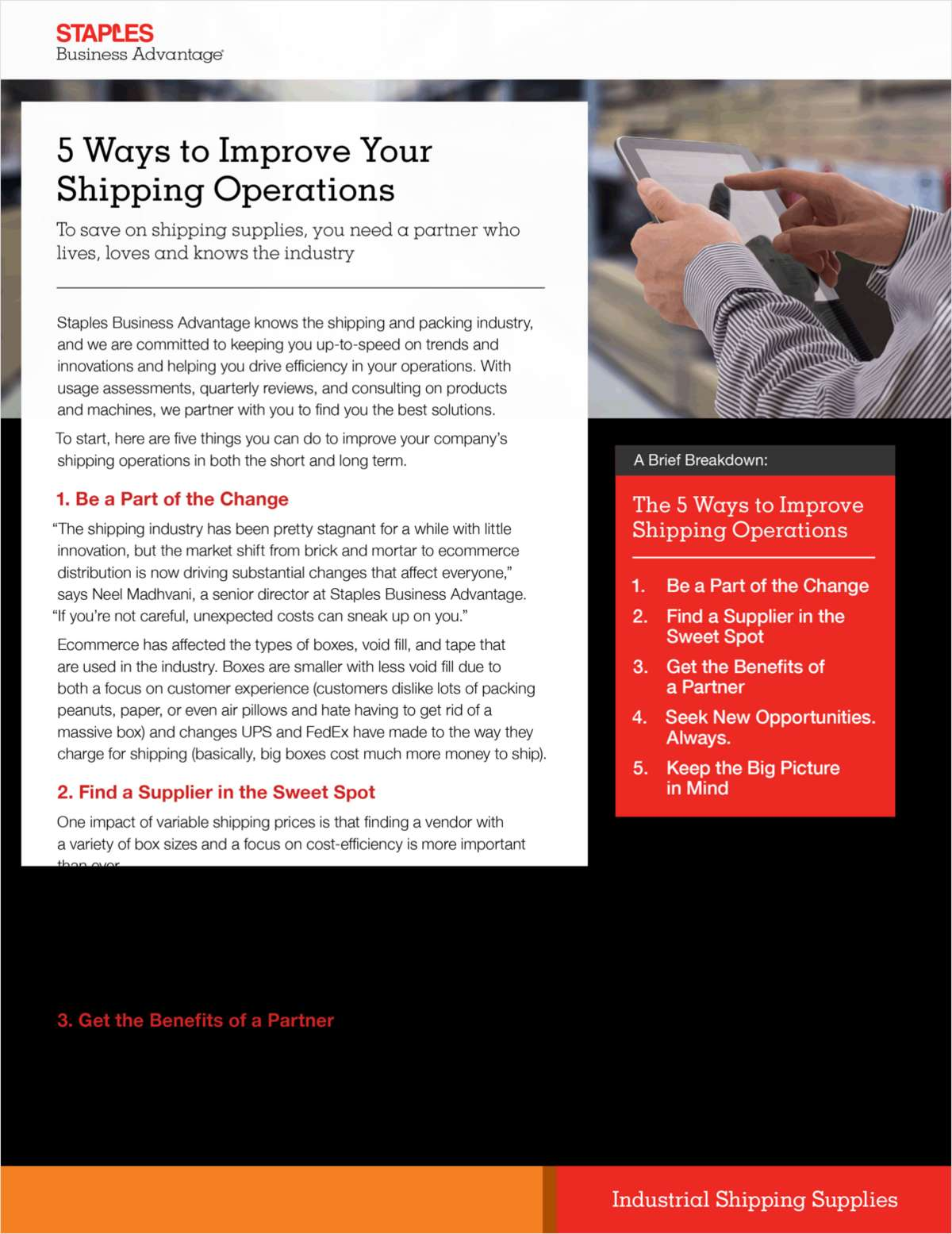 5 Steps to Better Shipping