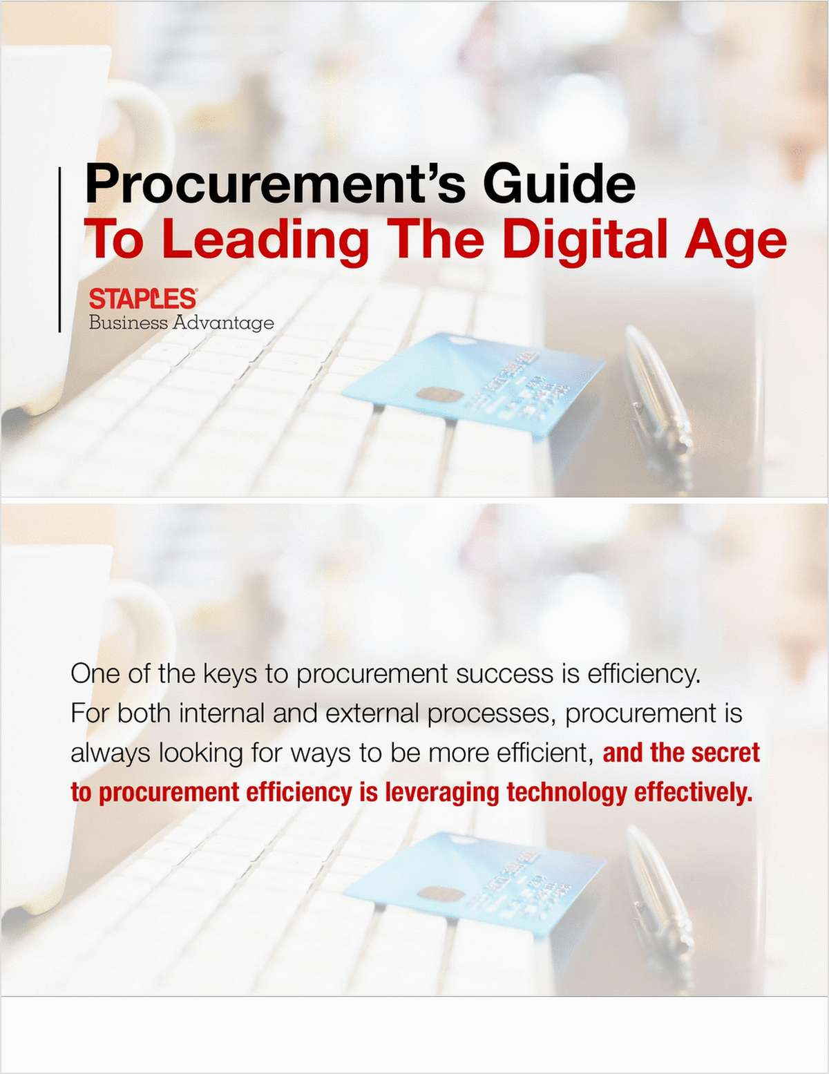 Procurement's Guide to Leading the Digital Age