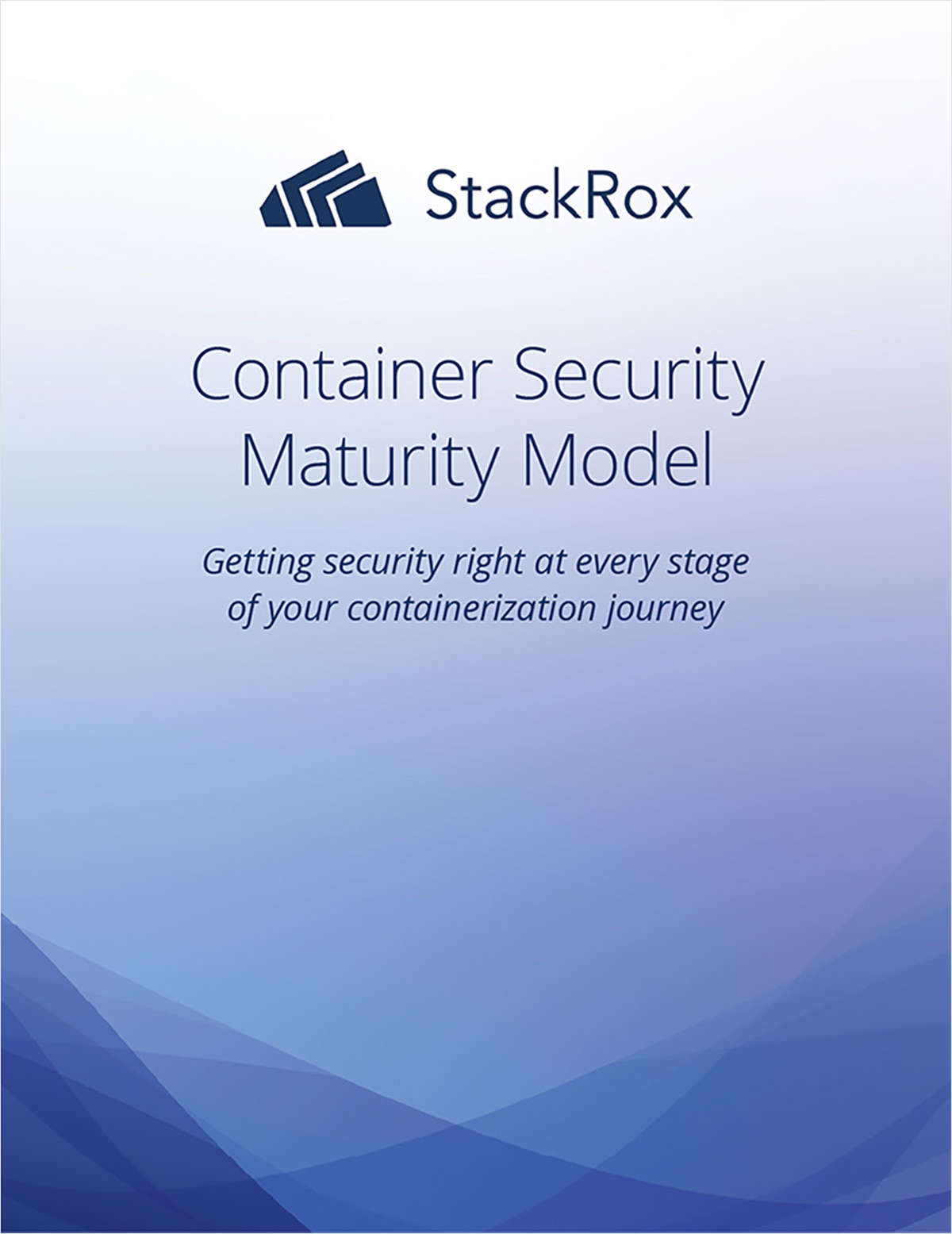 Container Security Maturity Model