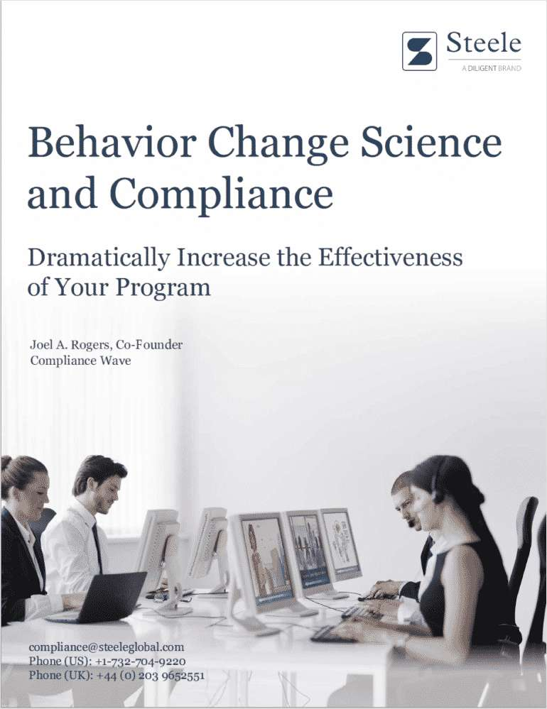 Behavior Change Science and Compliance