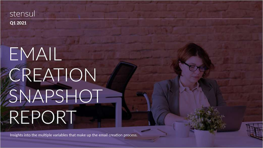Email Creation Snapshot Report