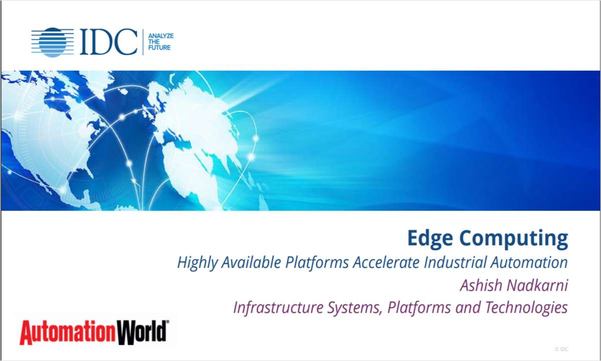 Digital Transformation for Engineers: The Emergence Of Edge And The Convergence Of OT & IT