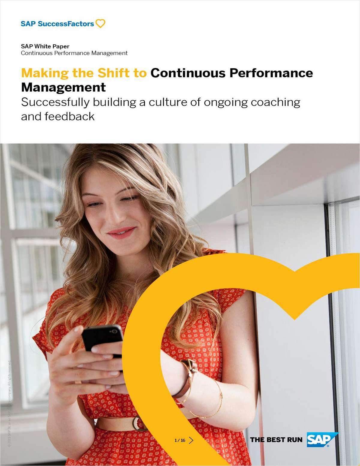 Making the Shift to Continuous Performance Management