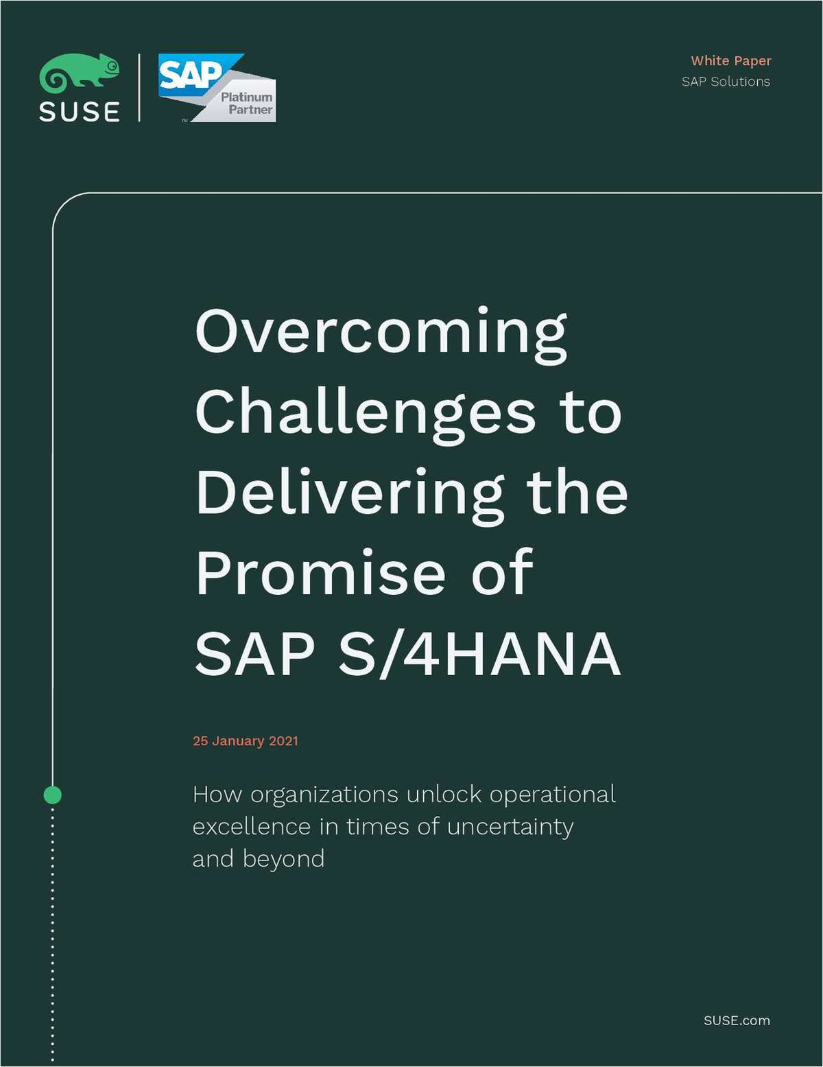 Overcoming Challenges to Delivering the Promise of SAP S/4HANA
