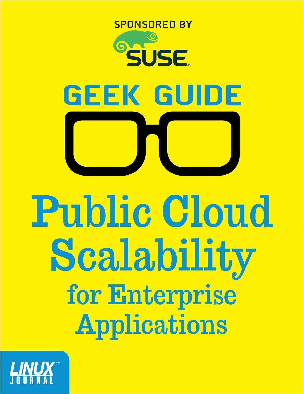 Public Cloud Scalability for Enterprise Applications