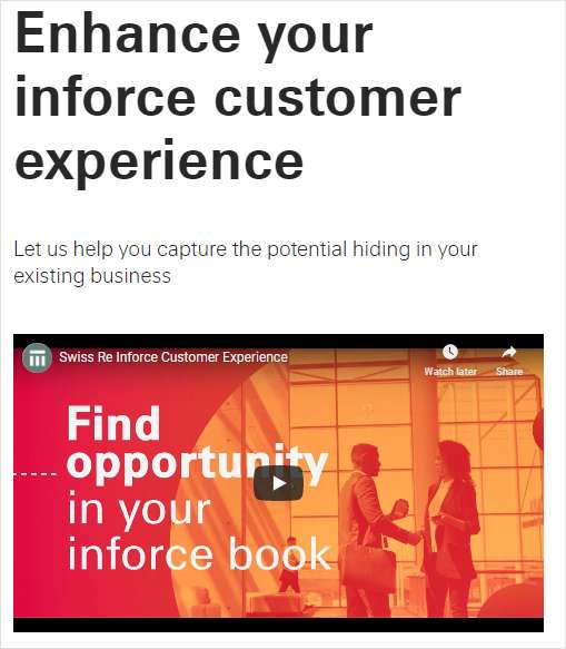 How to Enhance Your Inforce Customer Experience
