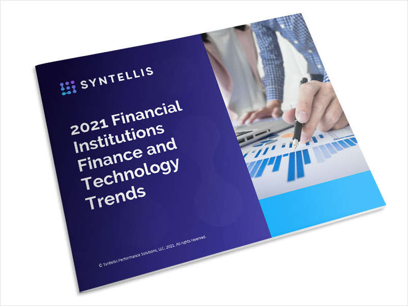 2021 Finance and Technology Trends for Financial Institutions
