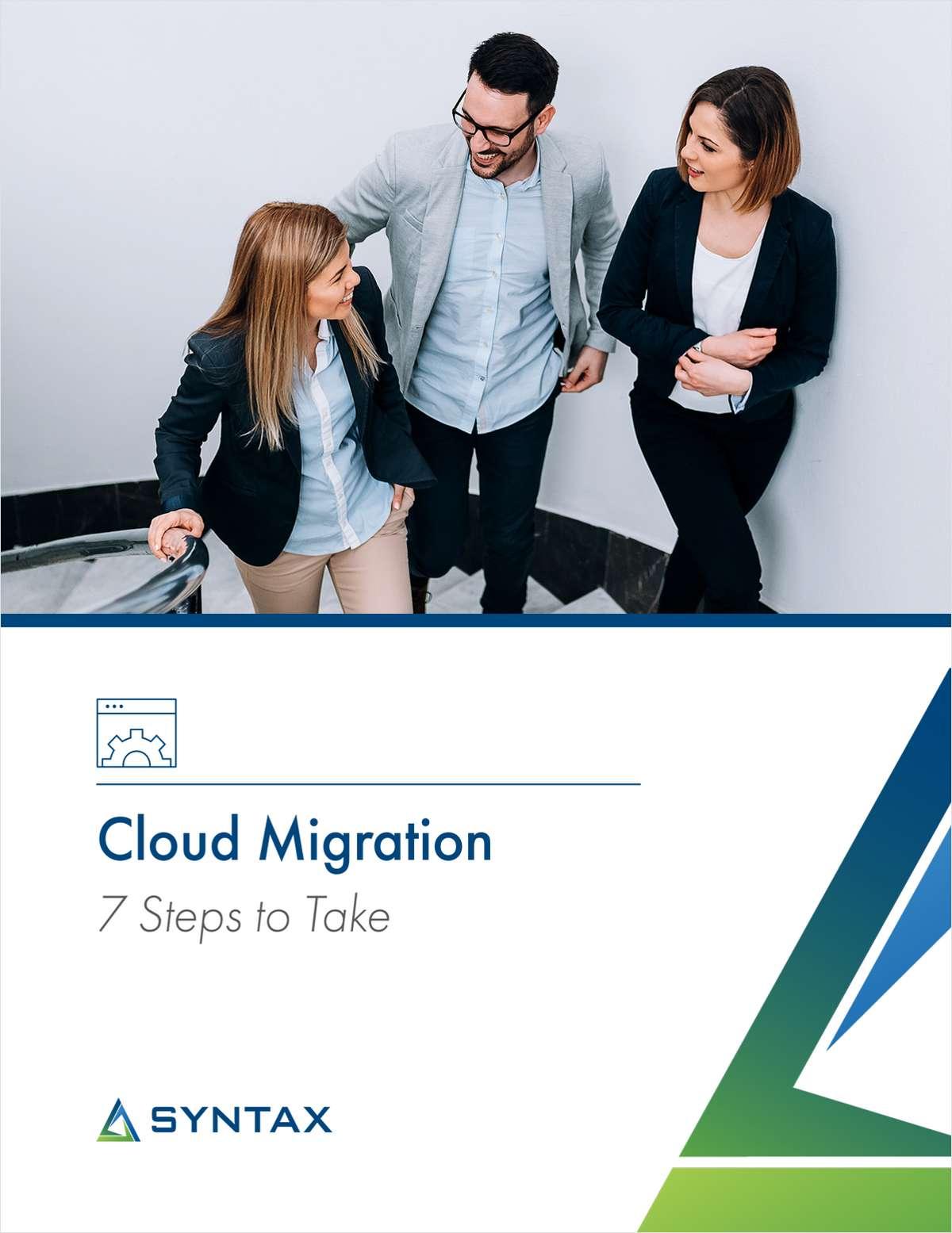 Cloud Migration: 7 Steps to Take