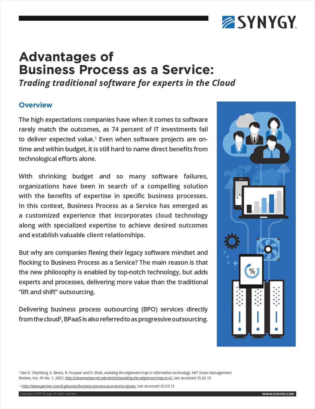 Advantages of Business Process as a Service