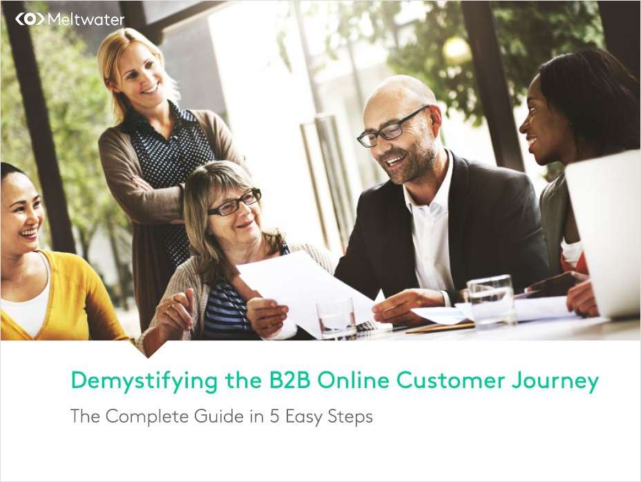 The B2B Online Customer Journey