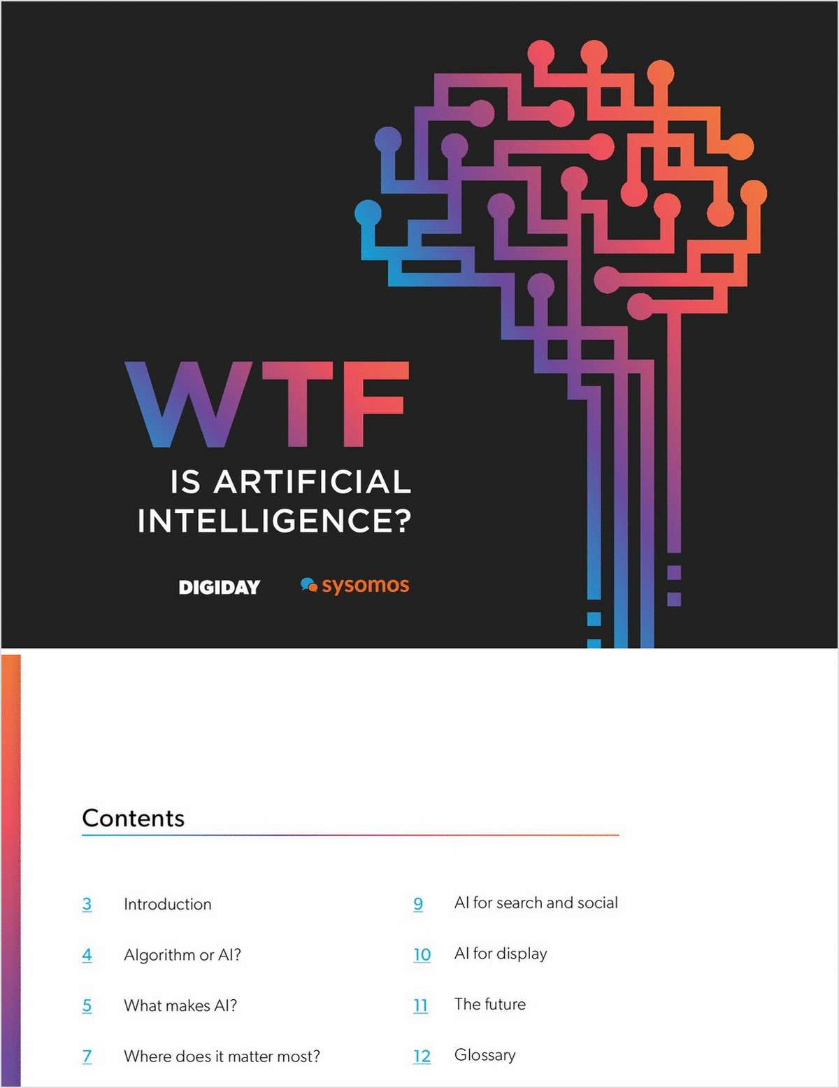WTF is Artificial Intelligence?