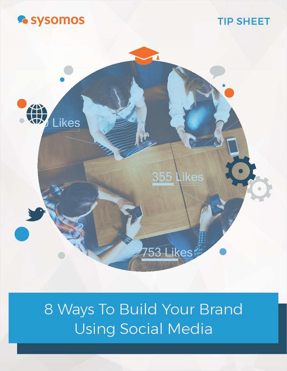 Building Your Brand Using Social Media