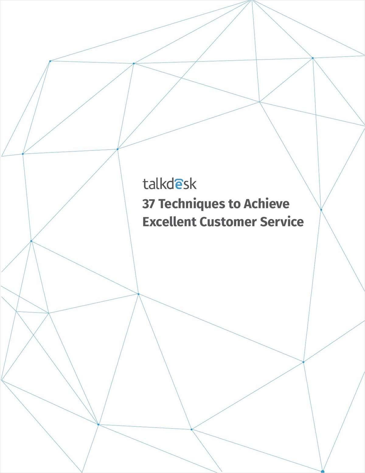 37 Techniques to Achieve Excellent Customer Service