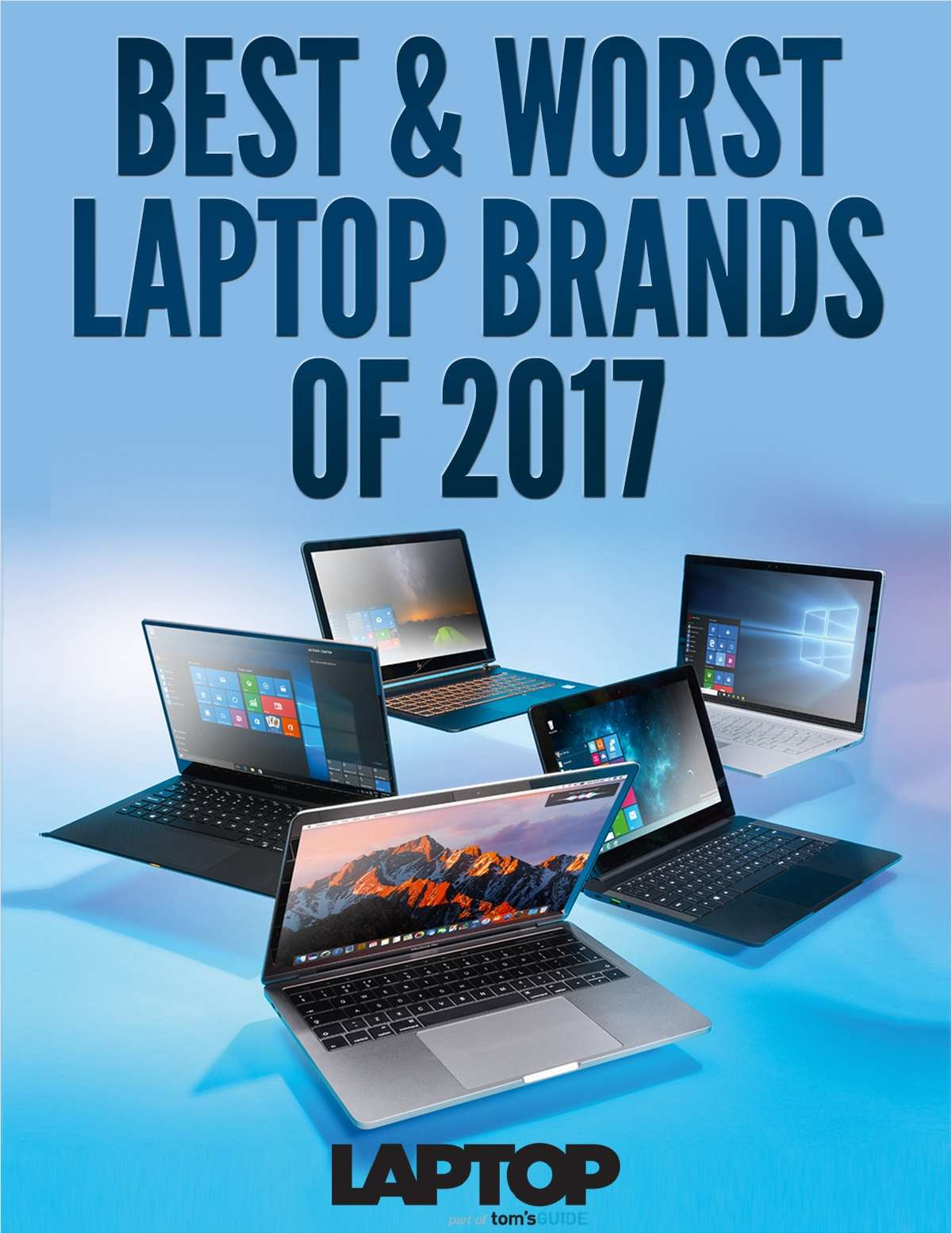 Best & Worst Laptop Brands of 2017