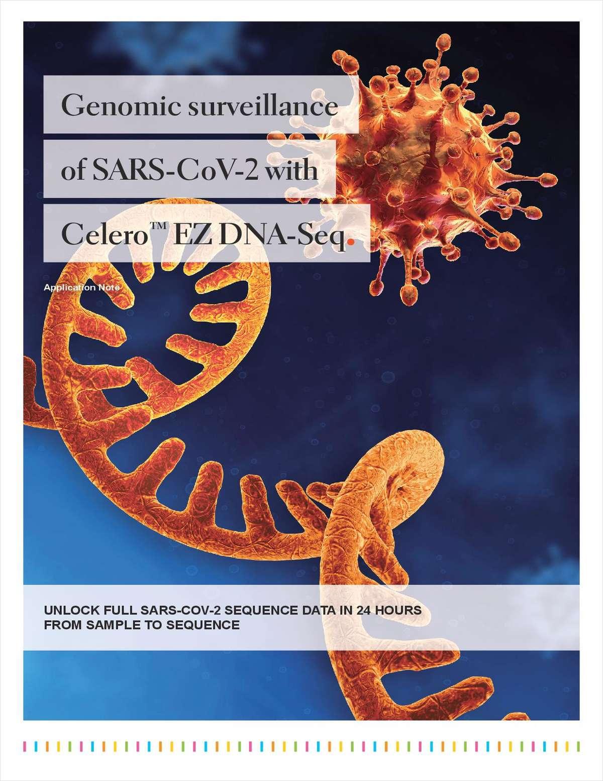 Genomic Surveillance of SARS-CoV-2 with Celero EZ DNA-Seq