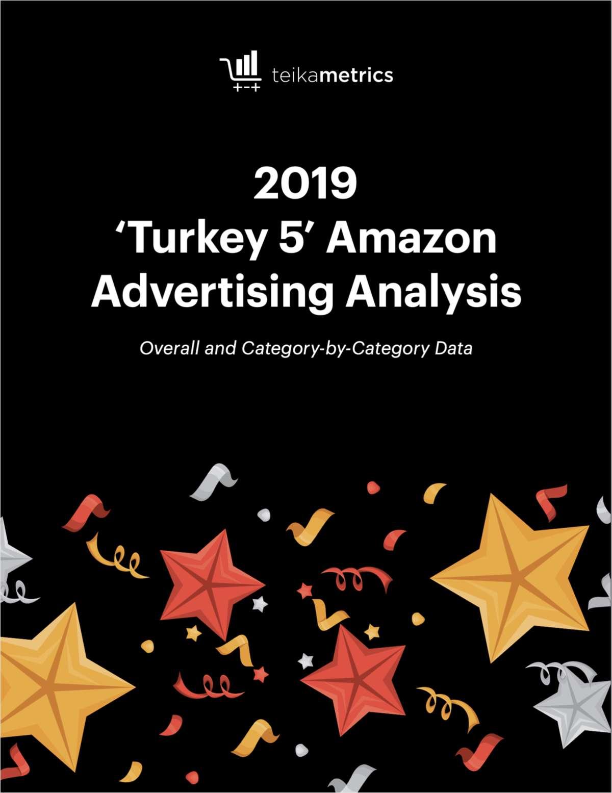 2019 Turkey 5 Amazon Advertising Analysis