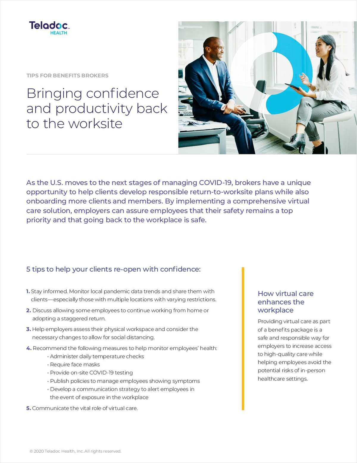 Broker Tips: Bring Confidence and Productivity Back to the Worksite