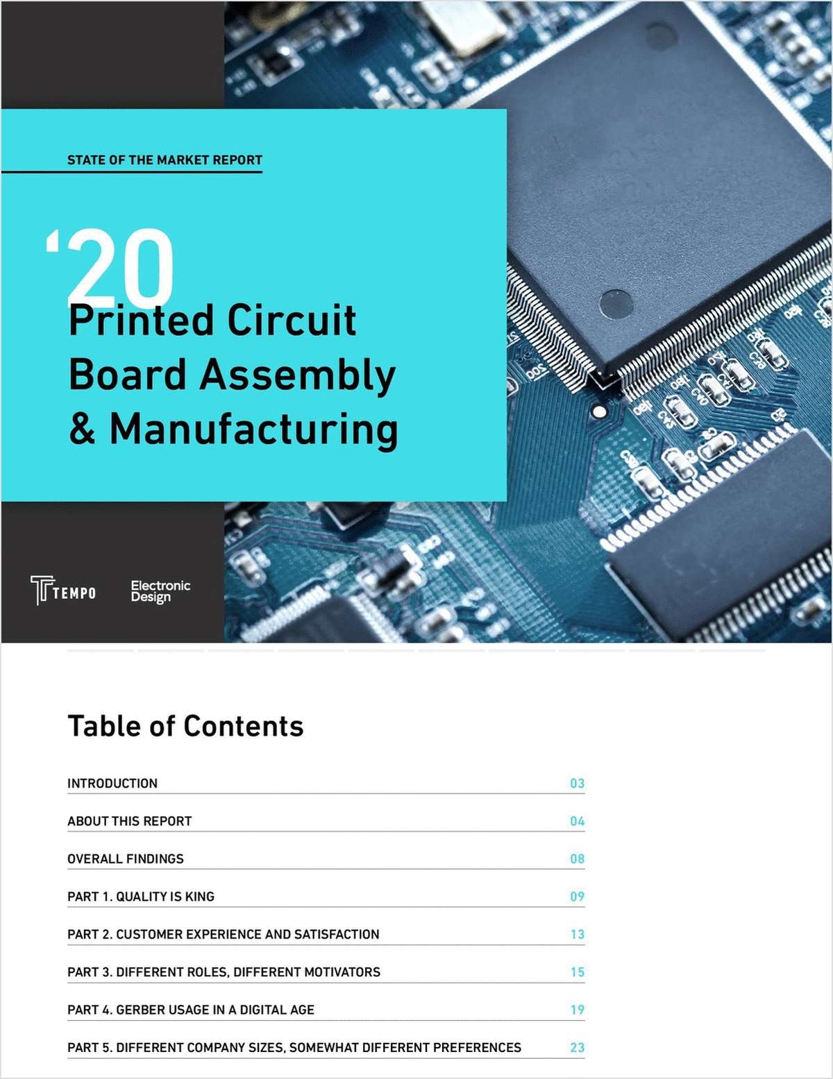 2020 Industry Report: PCB Assembly & Manufacturing