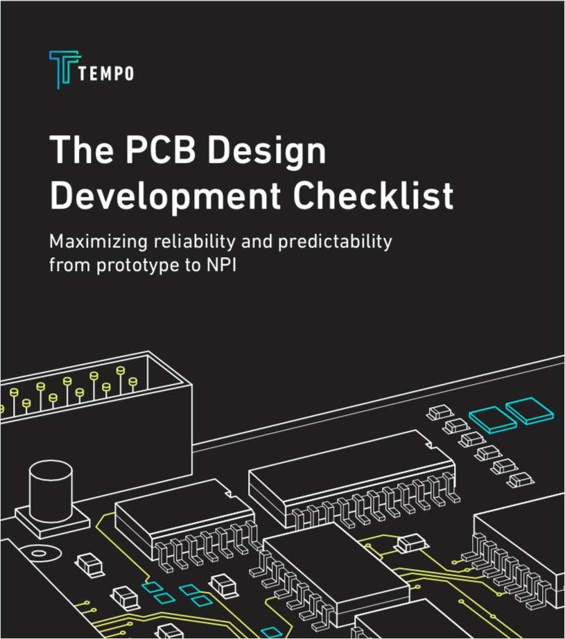 The PCB Design Development Checklist