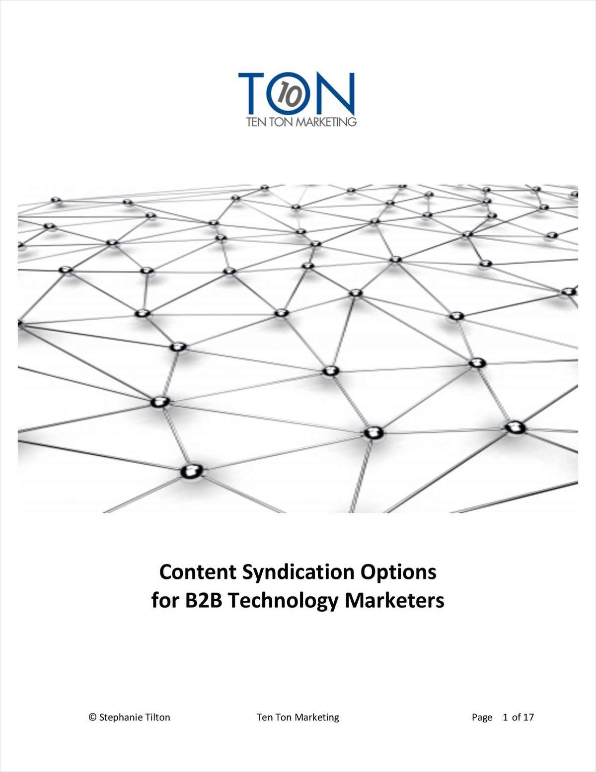 Content Syndication Options for B2B Technology Marketers