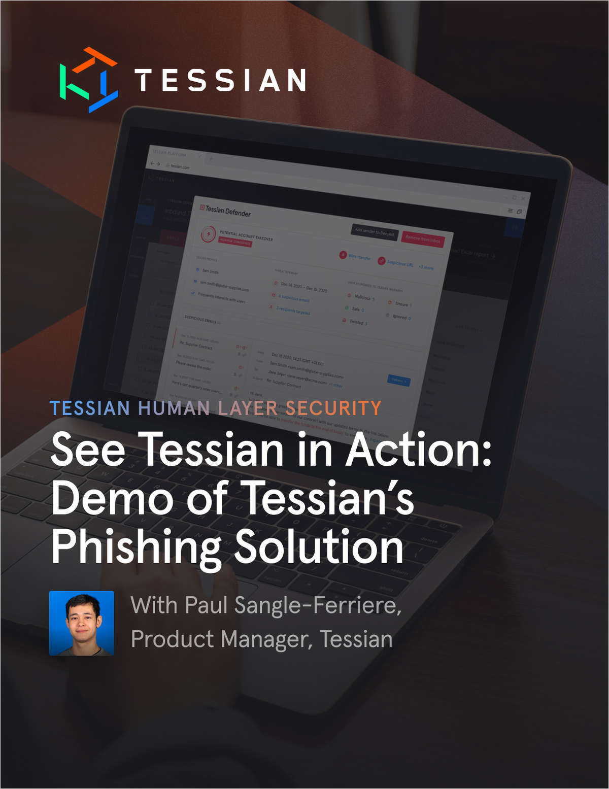 See Tessian in Action: Demo of Tessian's Phishing Solution