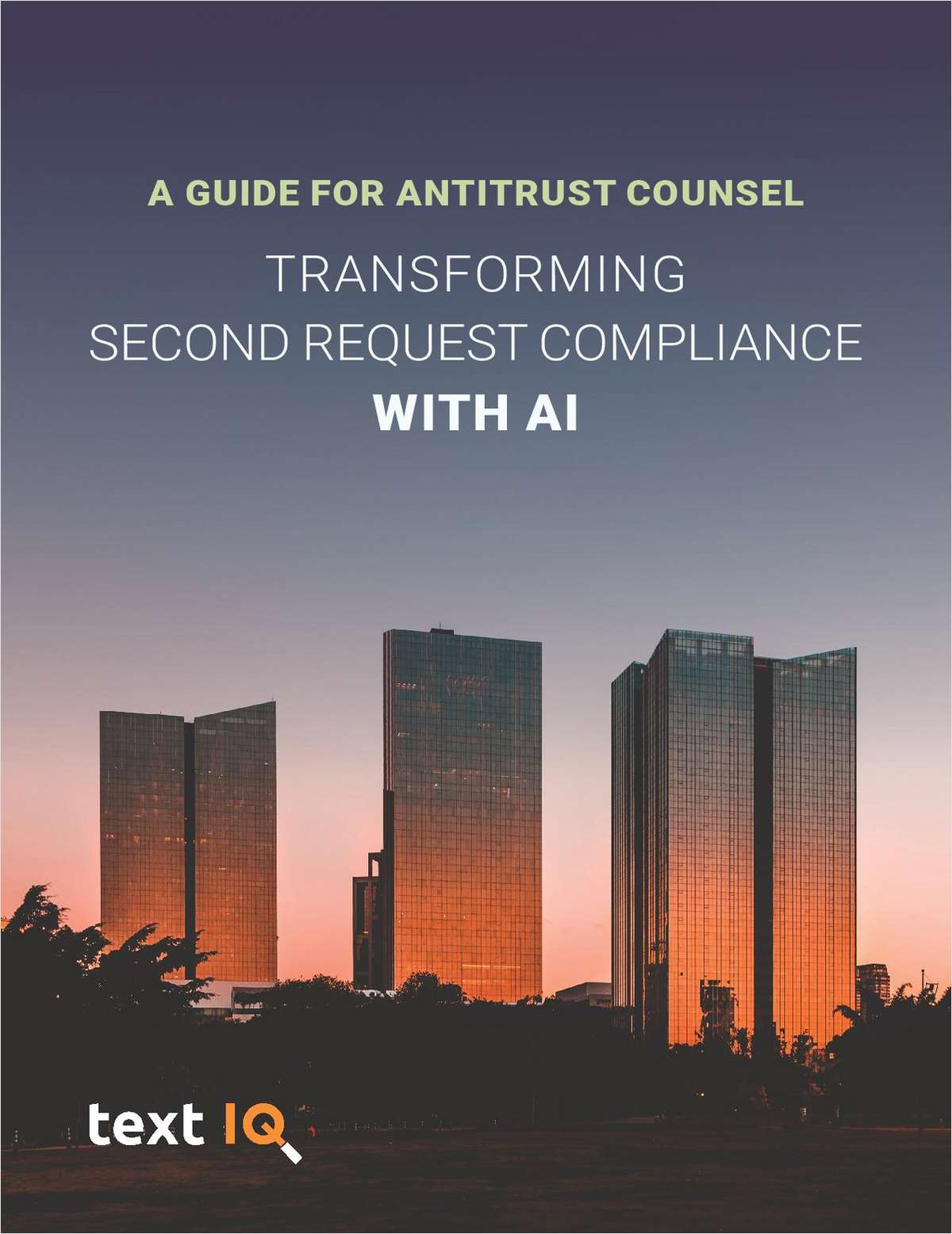 Antitrust Counsel: How to Transform HSR Second Request Compliance with AI