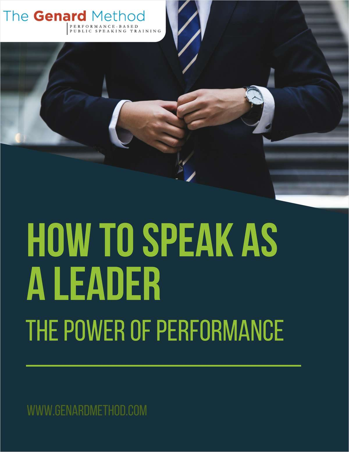 How To Speak as a Leader - The Power of Performance