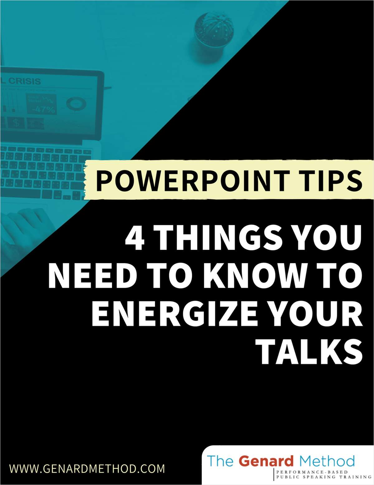 PowerPoint Tips - 4 Things You Need to Know to Energize Your Talks