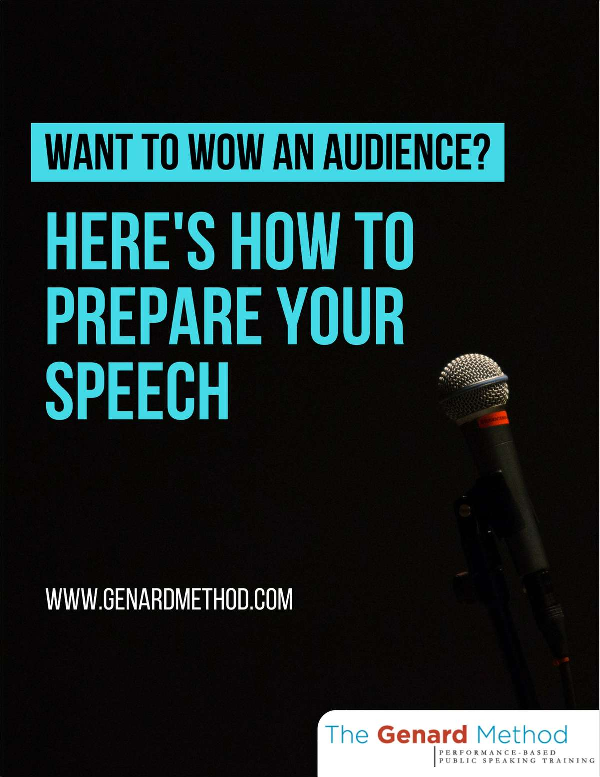 Want to Wow an Audience? Here's How to Prepare Your Speech