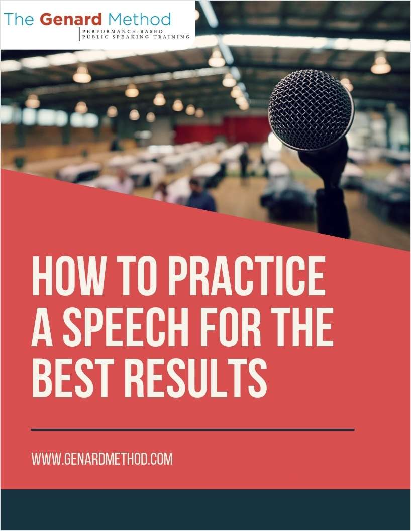 How to Practice a Speech for the Best Results