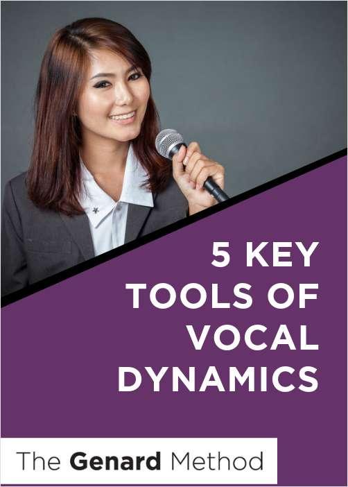 5 Key Tools of Vocal Dynamics
