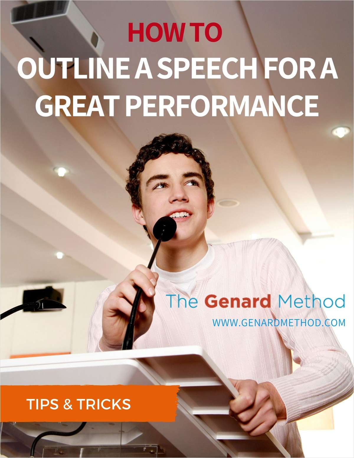 How to Outline a Speech for a Great Performance