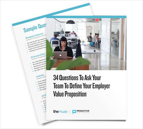 34 Questions to Define Your Employer Value Proposition