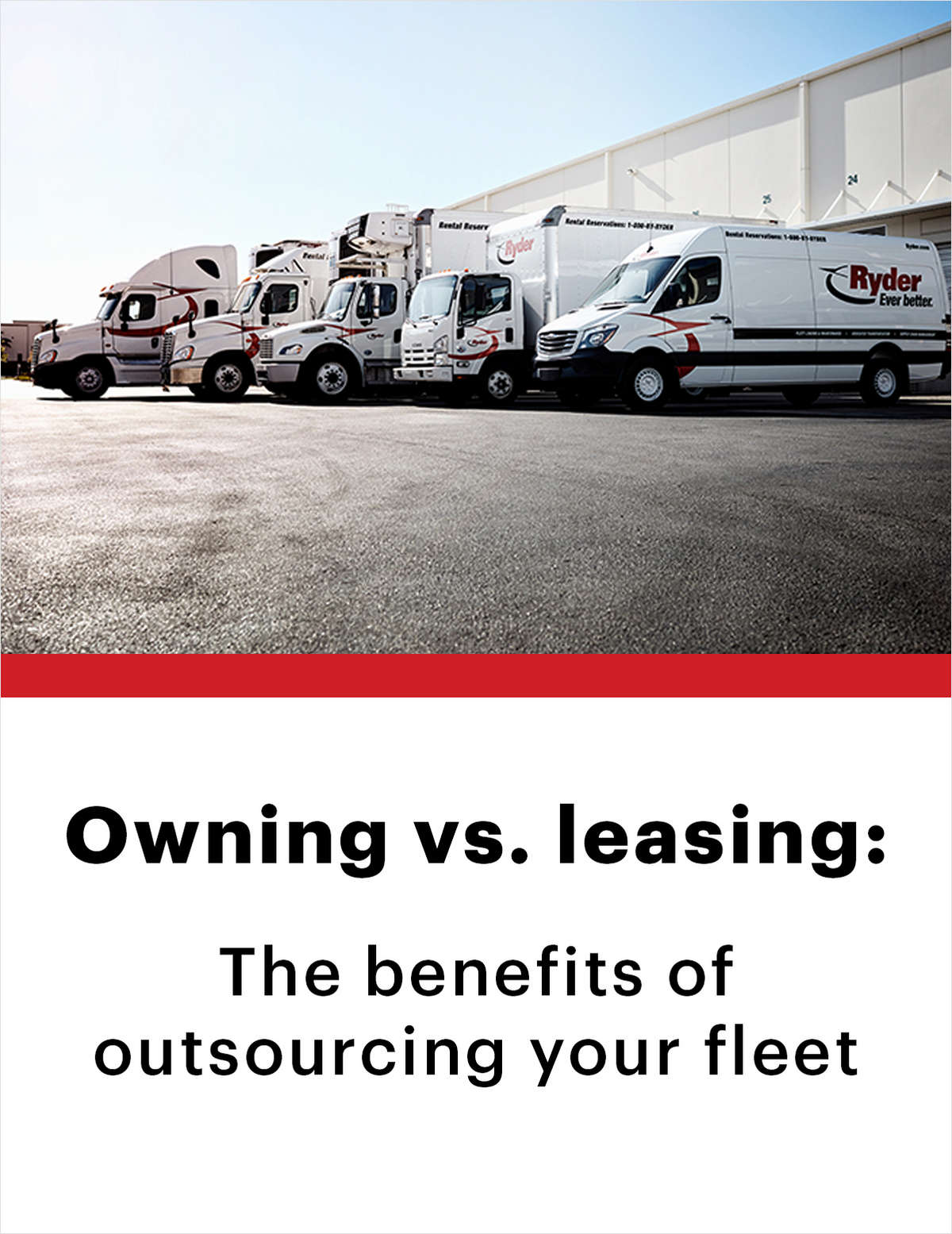 Owning vs. leasing: The benefits of outsourcing your fleet
