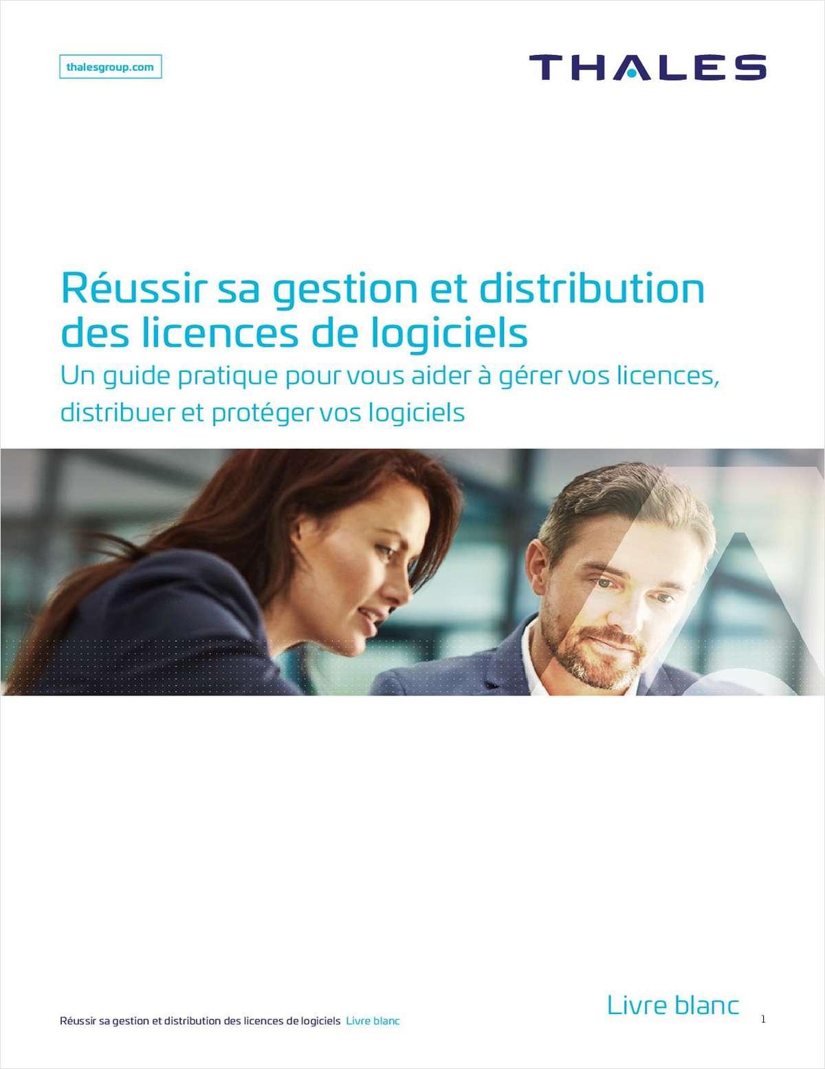 Réussir sa gestion et distribution des licences de logiciels