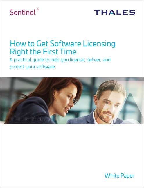 How to Get Software Licensing Right the First Time.