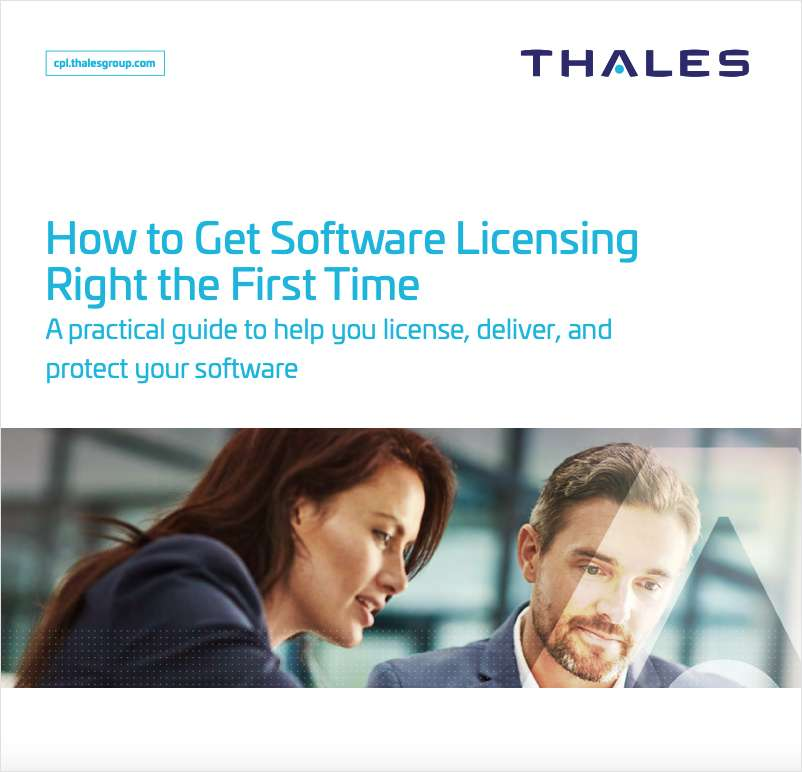 How to Get Software Licensing Right the First Time - White Paper