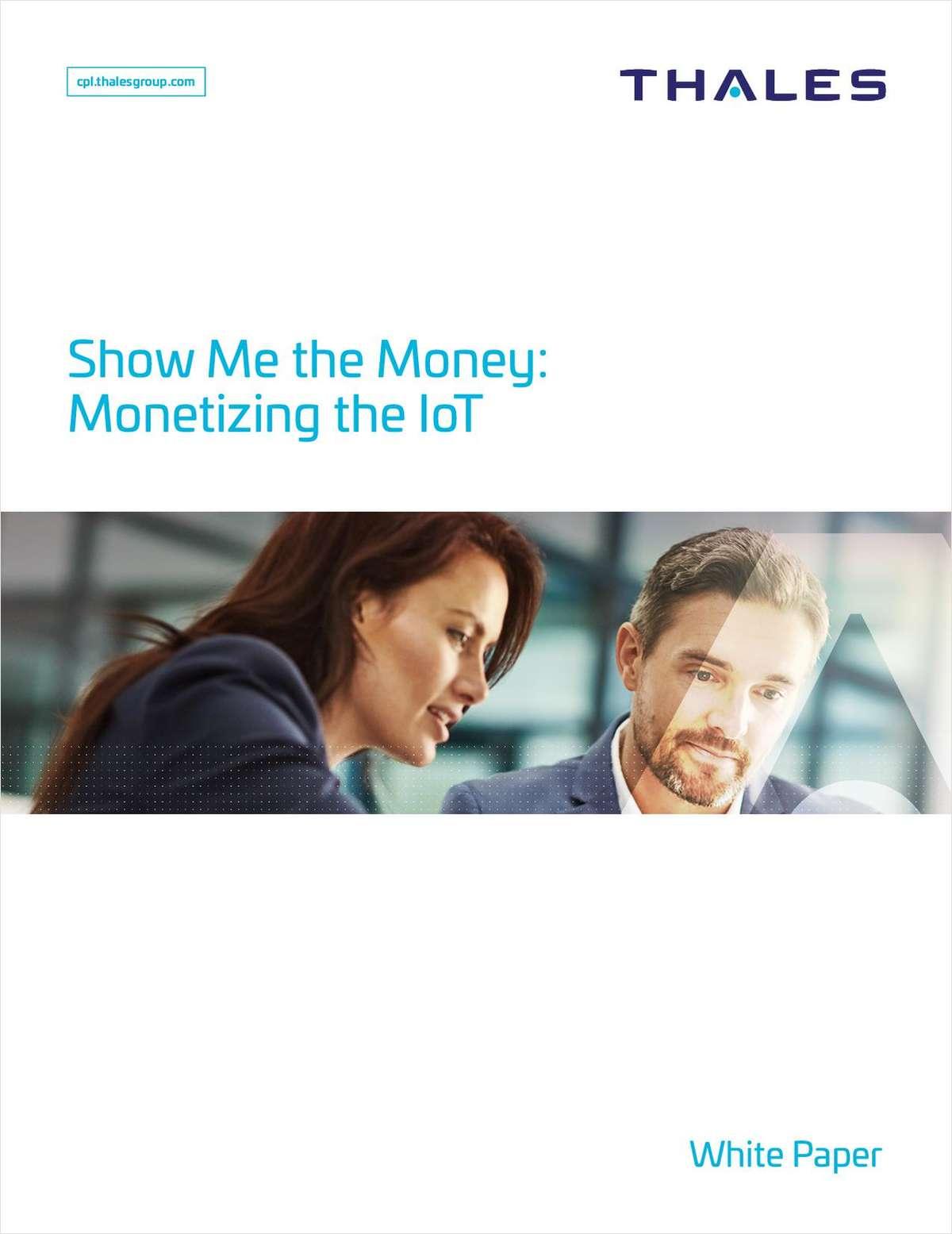 Show Me the Money: Monetizing the IoT