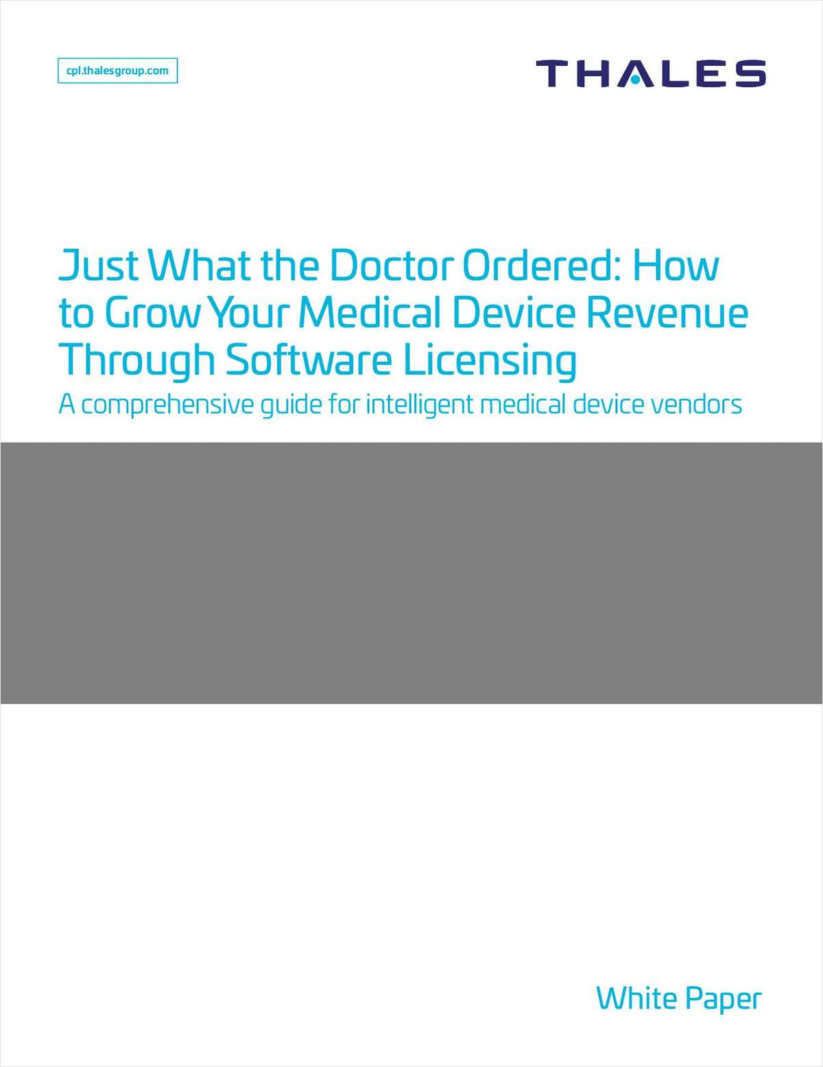 Just What the Doctor Ordered! How to Grow Your Medical Device Revenue Through Software Licensing