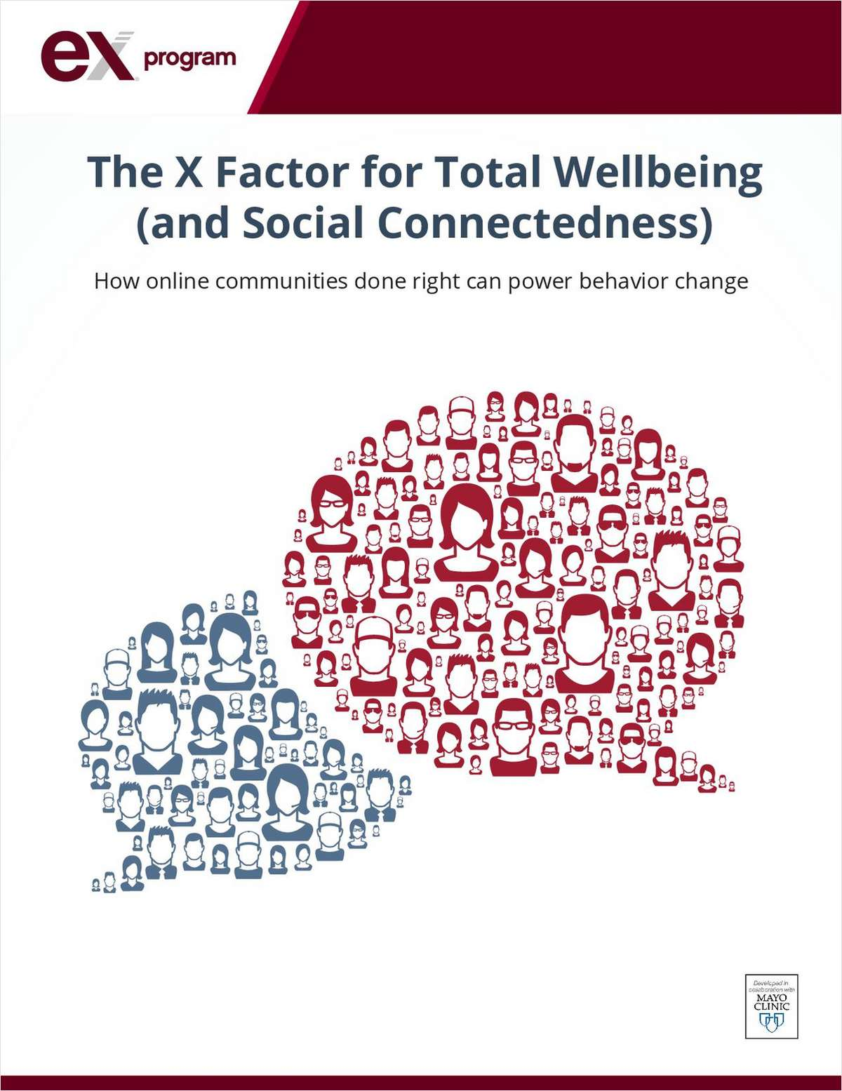 The X Factor for Total Wellbeing (and Social Connectedness)