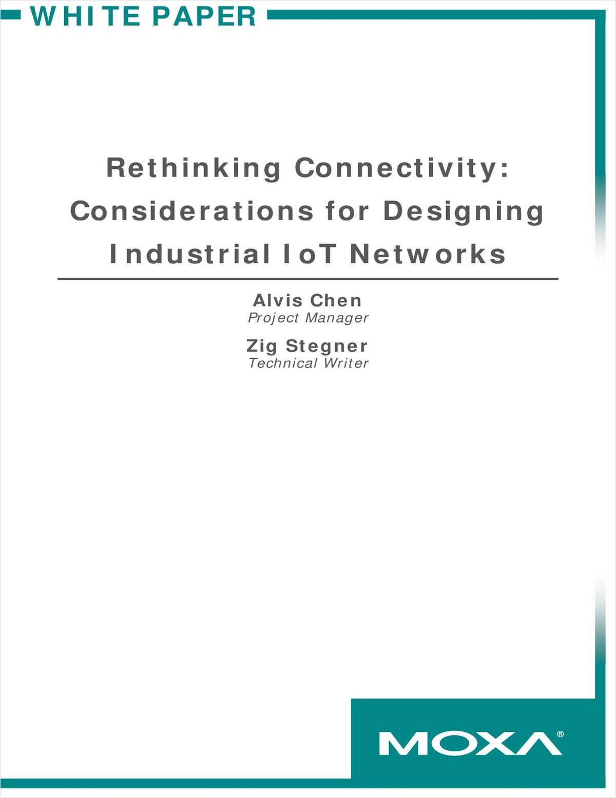 Rethinking Connectivity: Considerations for Designing Industrial IoT Networks