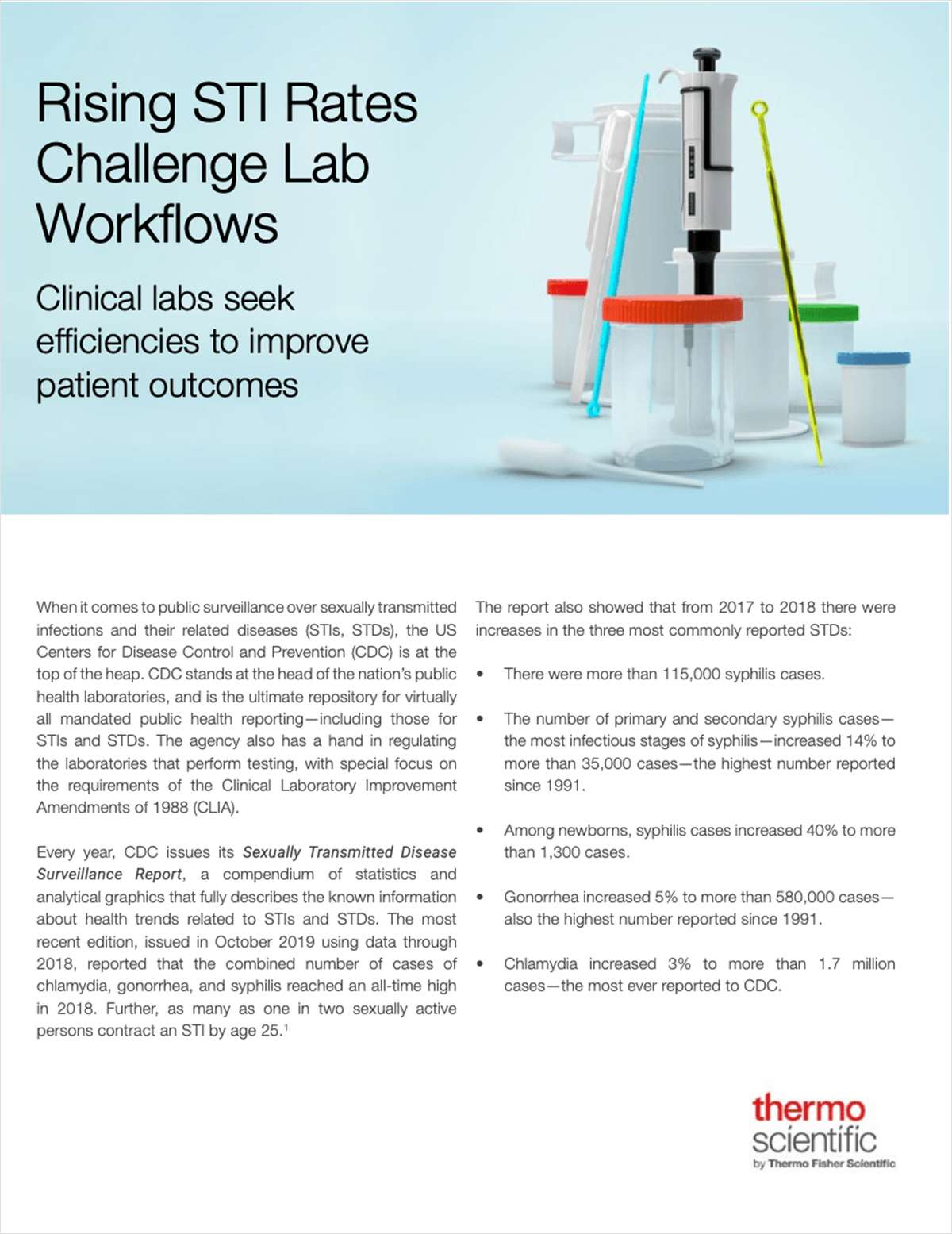 Is Your Lab Ready for Rising STI Rates?