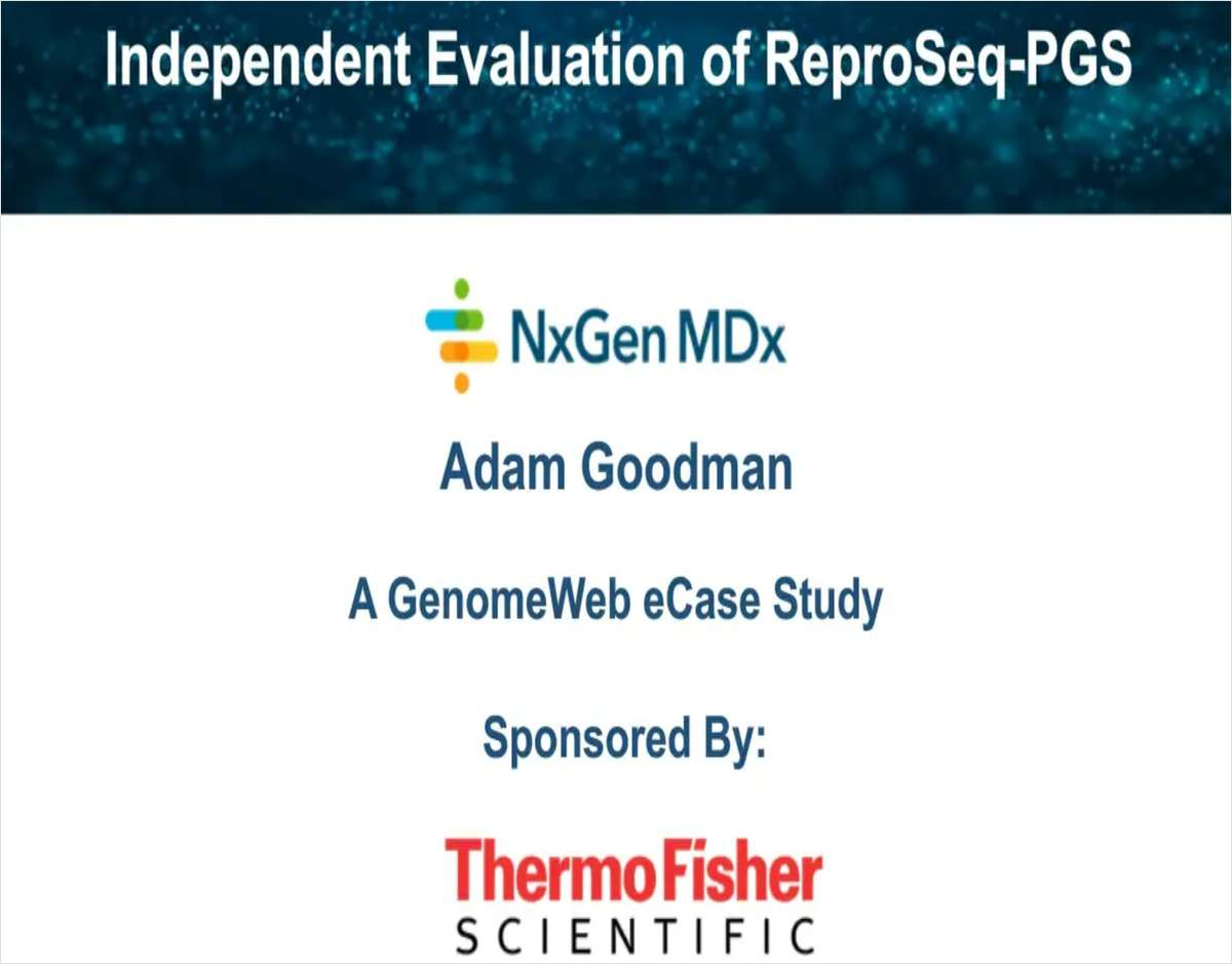 Independent Evaluation of Reproseq PGS