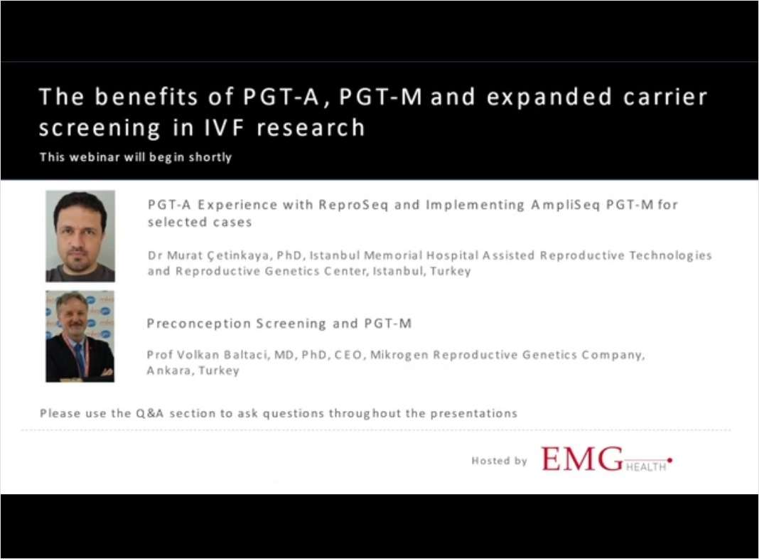 The Benefits of PGT-A, PGT-M, and Expanded Carrier Screening in IVF Research