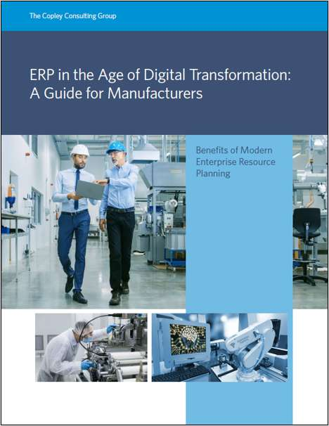 ERP & Digital Transformation: A Guide for Manufacturers