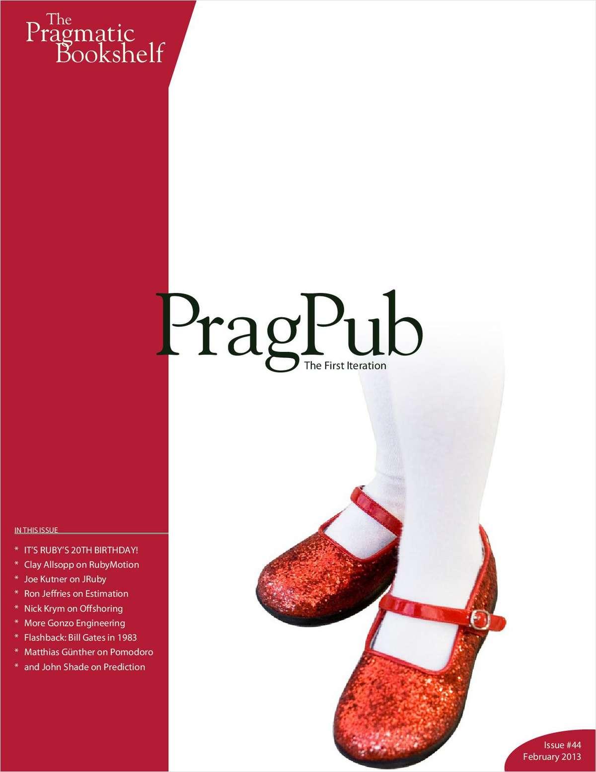 PragPub Issue #44 February 2013