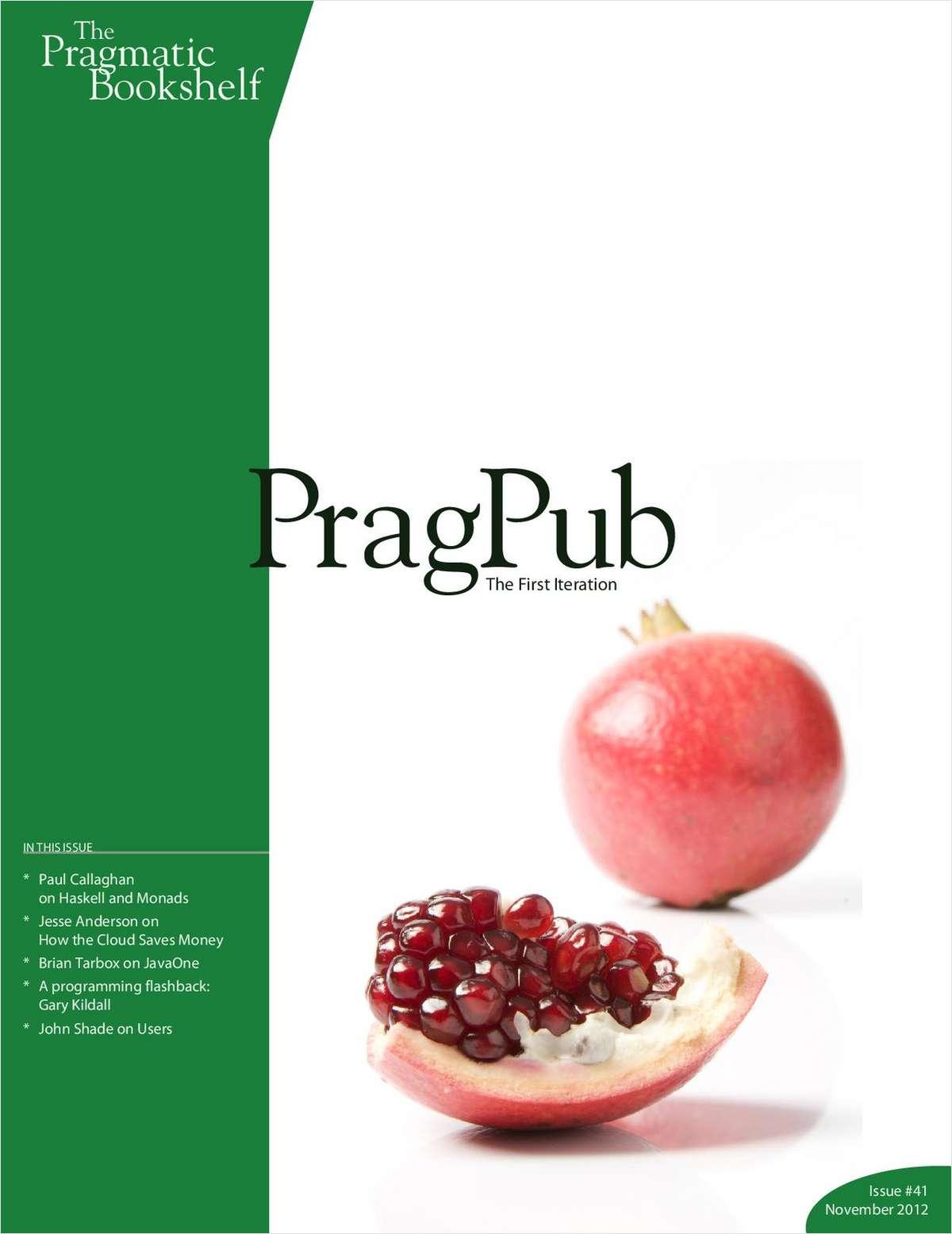 PragPub Issue #41, November 2012