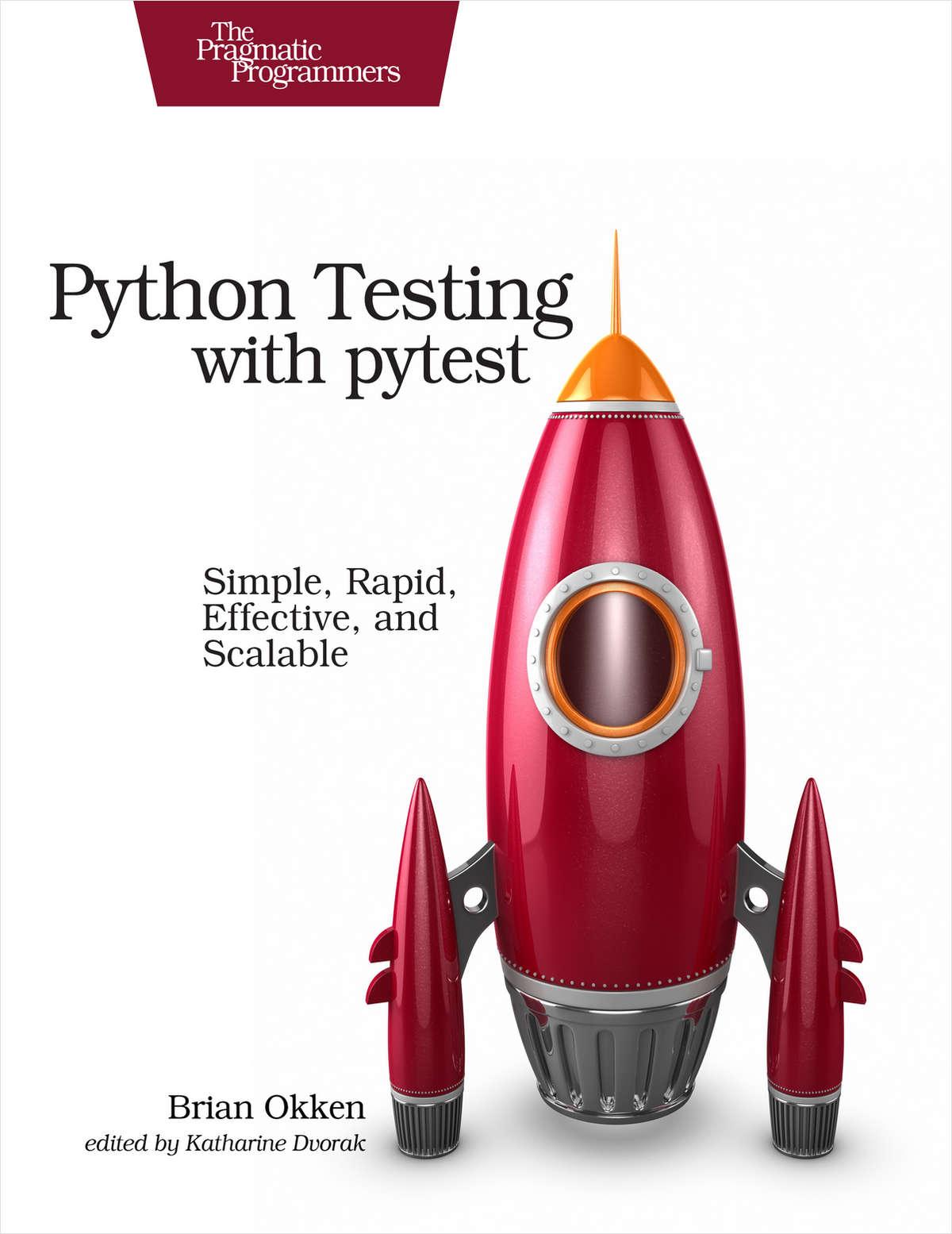 Python Testing with pytest